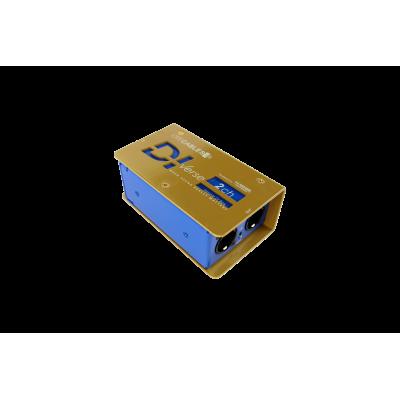 DIVerse BLUE - passive DI Box 2ch