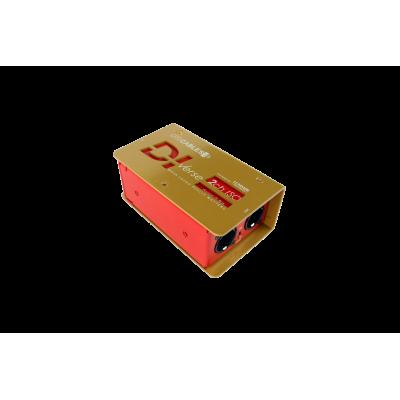 DIVerse RED ISO - passive DI Box 2ch ISO