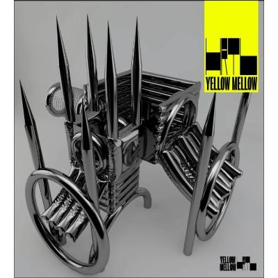 HRTL - Yellow Mellow (Screenprinted Version) [Nona Records]