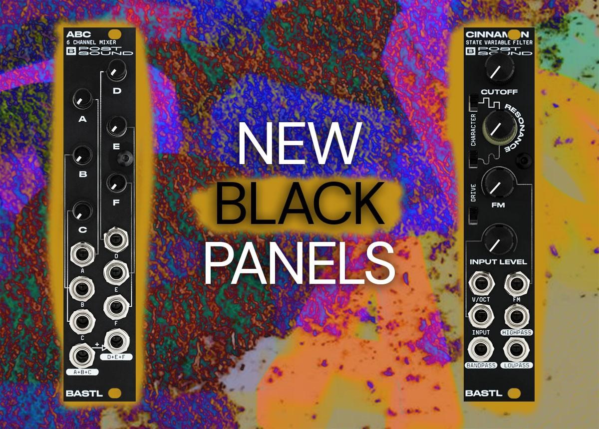 Black Panel Cinnamon and ABC